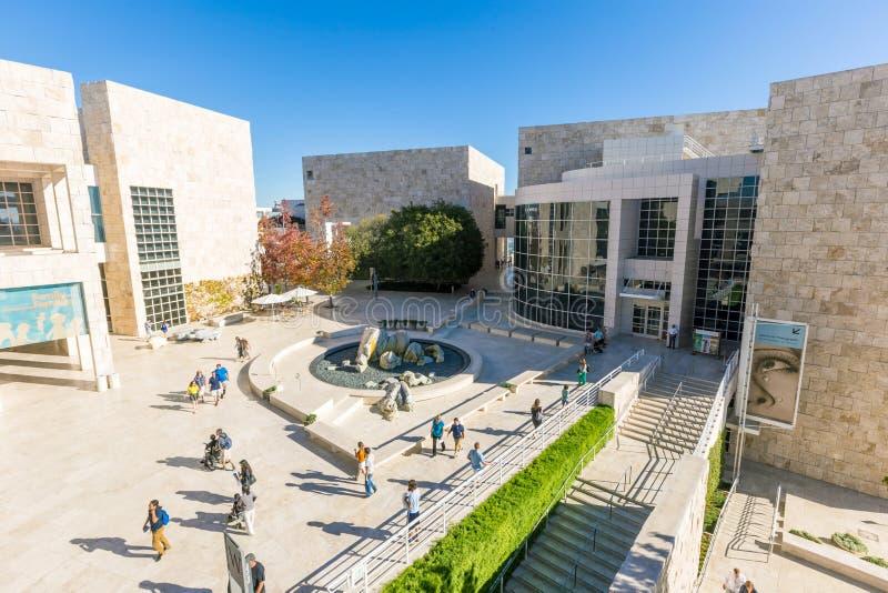 J Muzeum Paul Getty muzeum w Los Angeles fotografia stock