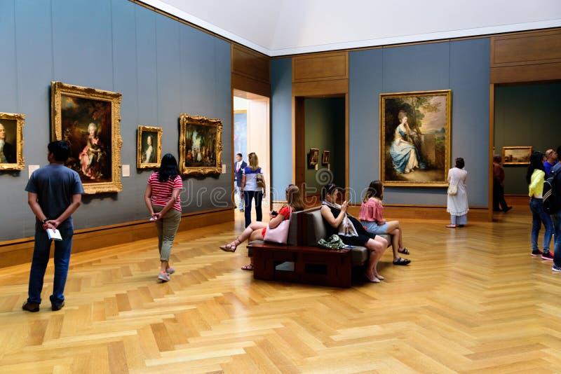 J Paul Getty Muzeum obrazy stock