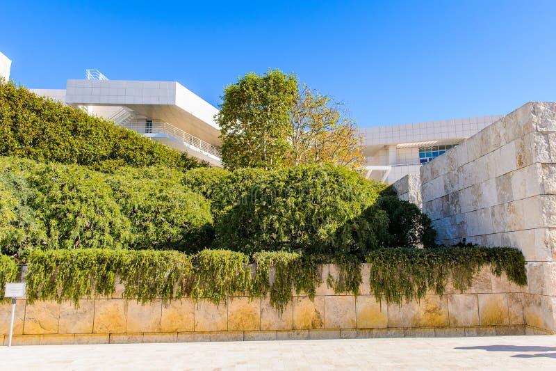 J Paul Getty muzeum w Kalifornia obrazy royalty free