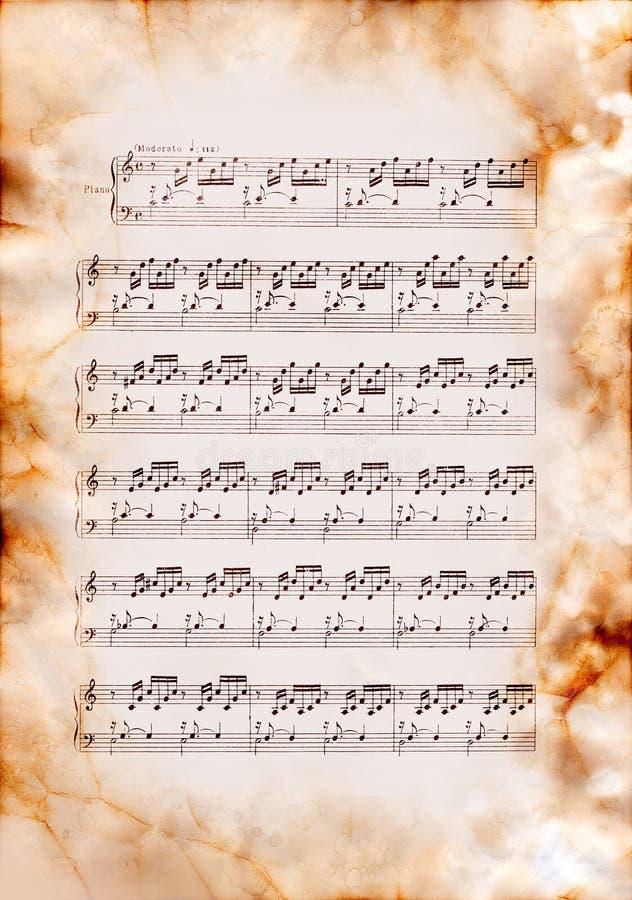 J.S.Bach, un preludio numero 1 fotografie stock