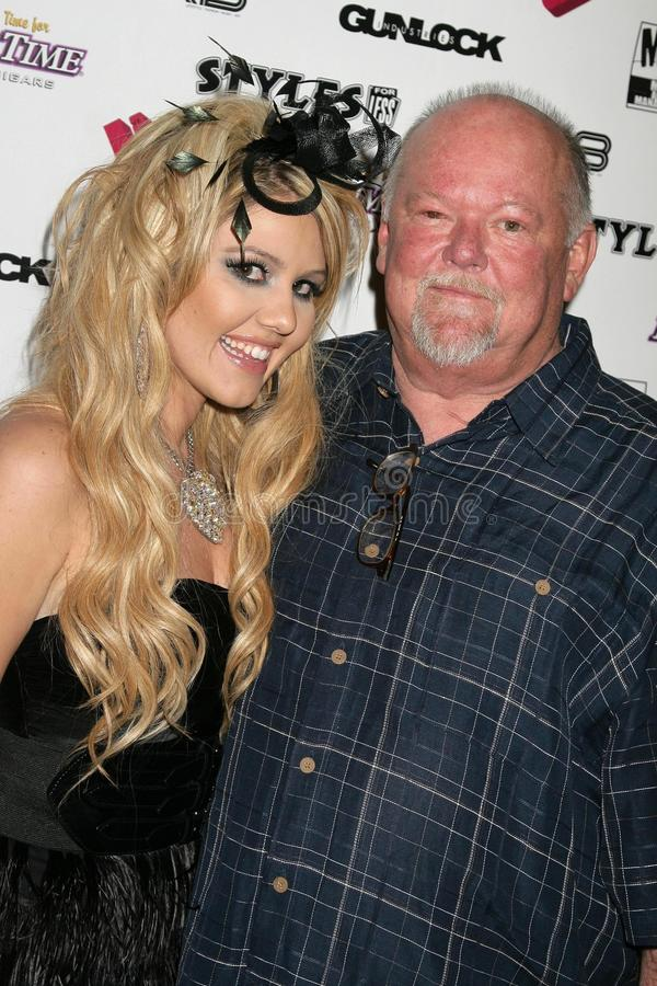 Download J.Smith And Her Father At The J.Smith Music Video Debut Premiere Party. Les Deux, Hollywood, CA. 02-25-09 Editorial Stock Image - Image: 22228129