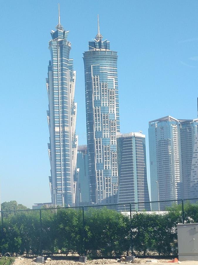 J.W.Marriott Hotel Business Bay area in Dubai stock photo