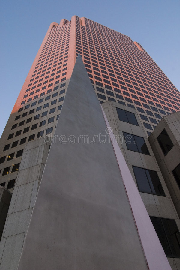 J32 Pyramid and Tower royalty free stock photo