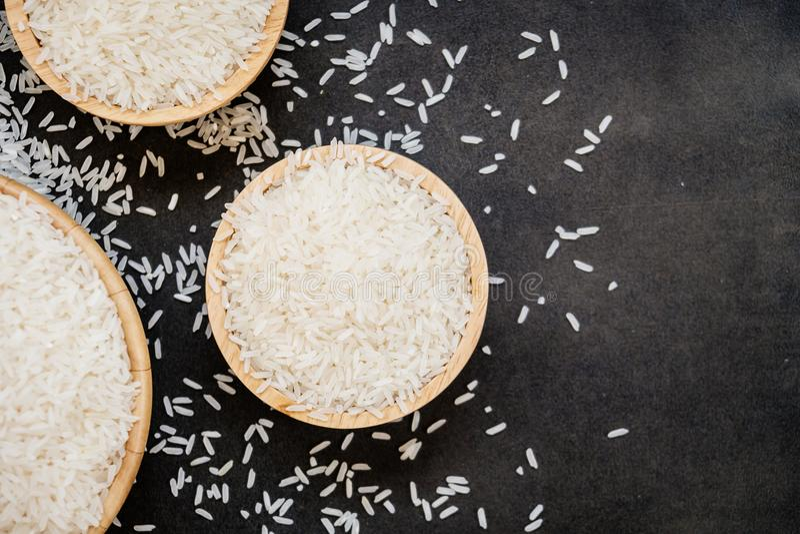 jaśminowi ryż zdjęcia stock