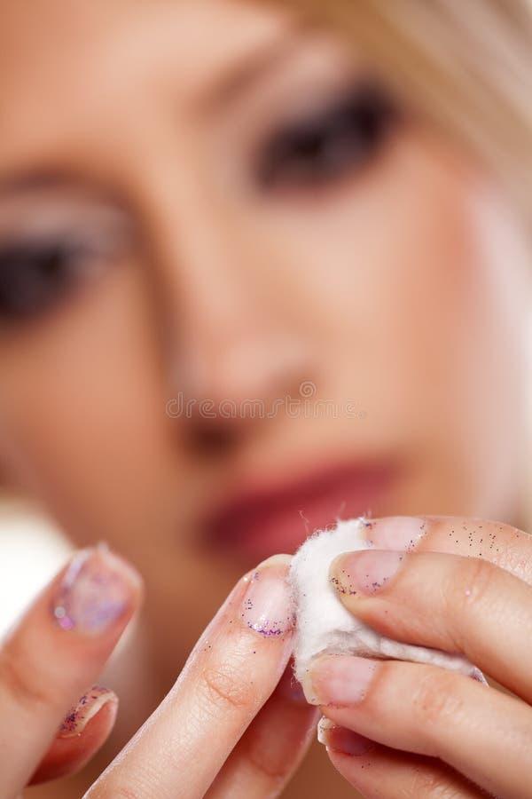 Jaźń manicure zdjęcie royalty free