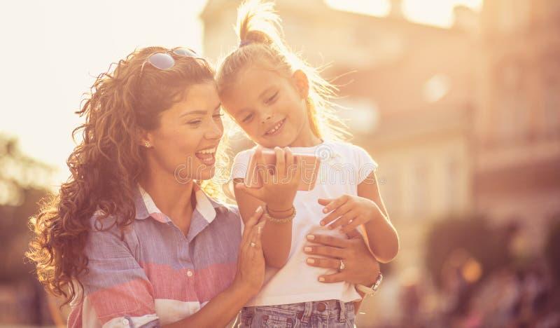Jaźń portret - wielki sposób dzielić miłości zdjęcia stock