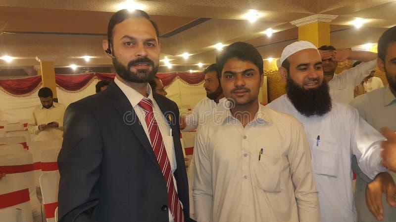 Ja Anwar i mój starszy Muhammad zdjęcia royalty free