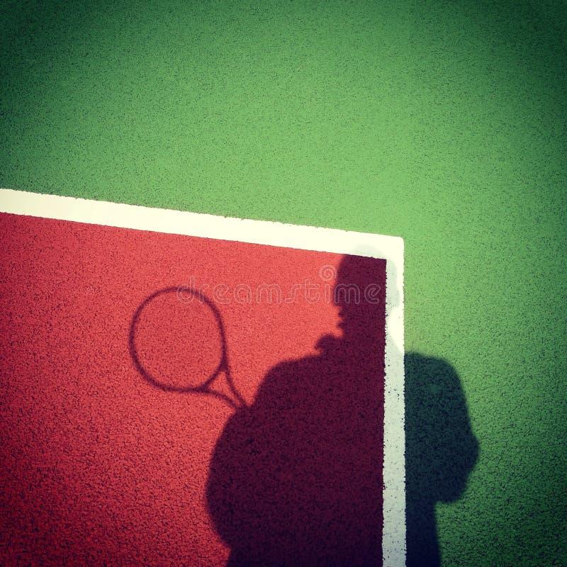 Ja bawić się tenisa obraz stock