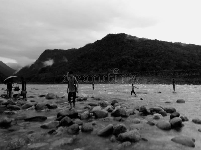 ja był nabierał bisnakhandhi wspaniały miejsce obrazy stock