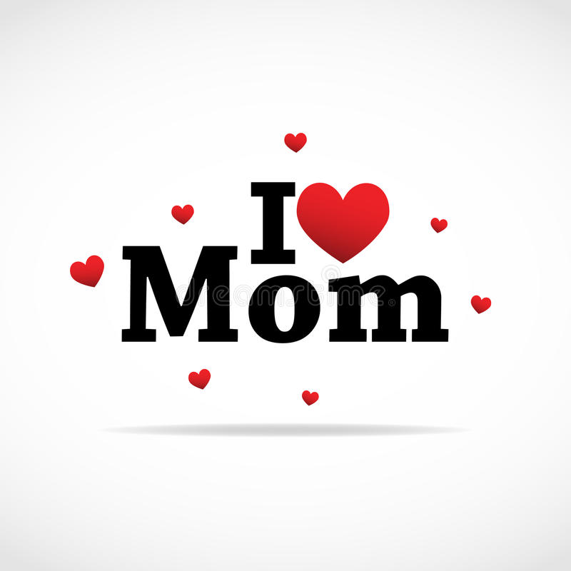 ja ikony miłości mama ilustracji