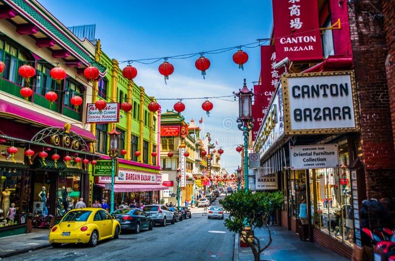 Ja jest Chinatown obrazy stock