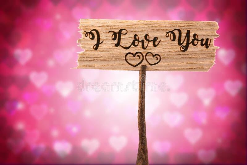 Download Ja kocham ty szyldowego zdjęcie stock. Obraz złożonej z eventide - 106900578