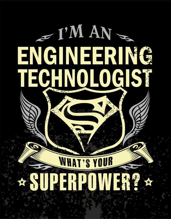 Ja ` m inżynieria technolog royalty ilustracja