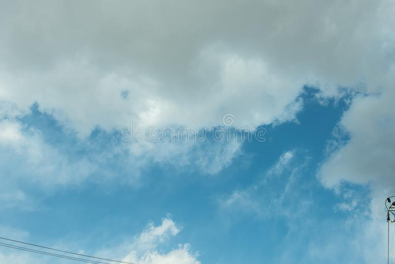 Ja ` s niebo południowy Korea zdjęcie stock