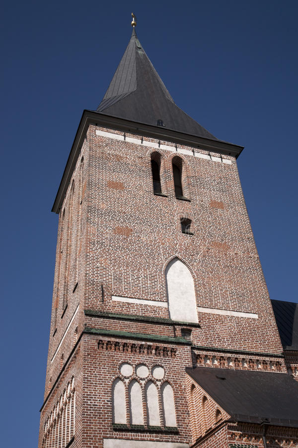 Jaani kościół, Tartu obraz stock