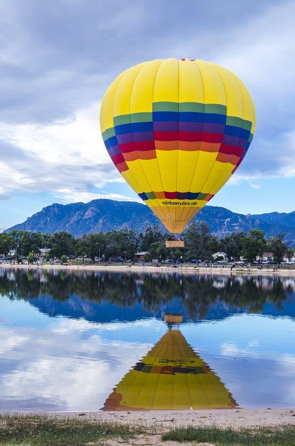 Jaarlijks Ballonfestival Colorado Springs, Colorado royalty-vrije stock afbeelding