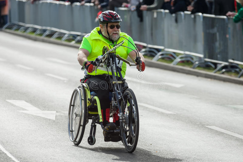Jaarlijks Berlin Half Marathon berlijn duitsland royalty-vrije stock fotografie