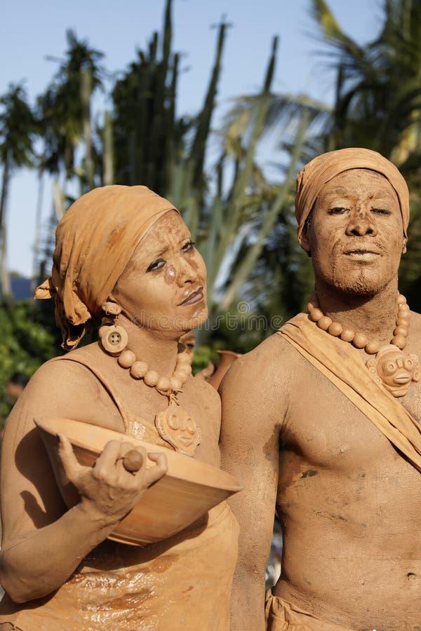 Jaarlijks Carnaval 2011 van Frans Guyana royalty-vrije stock foto's