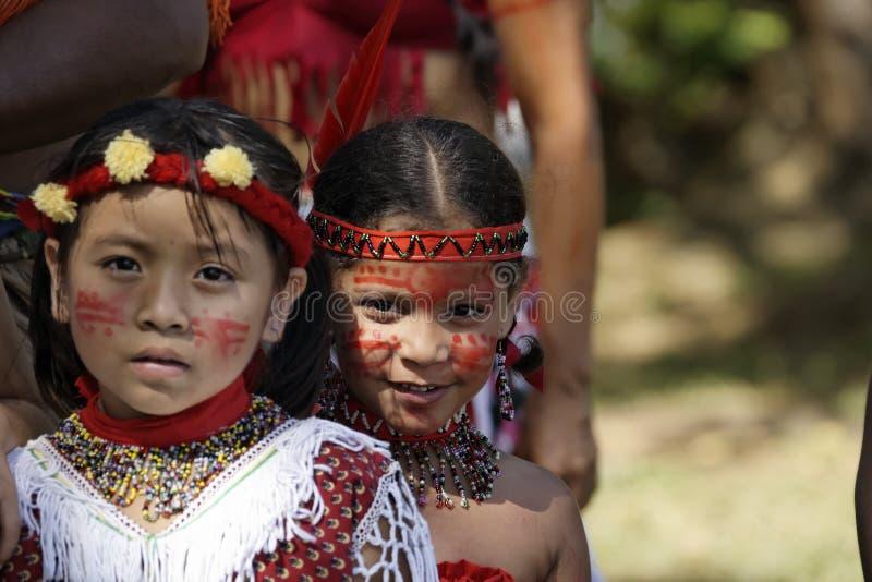 Jaarlijks Carnaval 2011 van Frans Guyana stock afbeelding