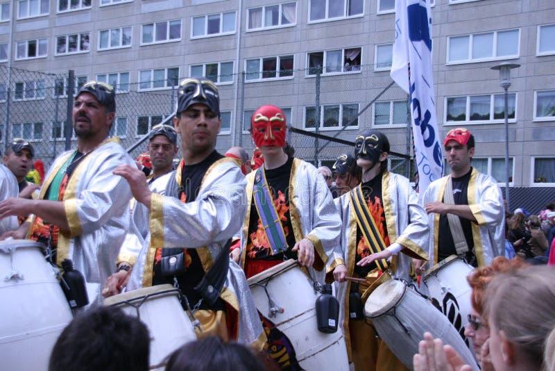 Jaarlijks cultureel festival in Hammarkullen, Gothenburg, Zweden stock foto's