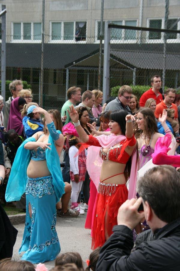 Jaarlijks cultureel festival in Hammarkullen, Gothenburg, Zweden stock afbeeldingen