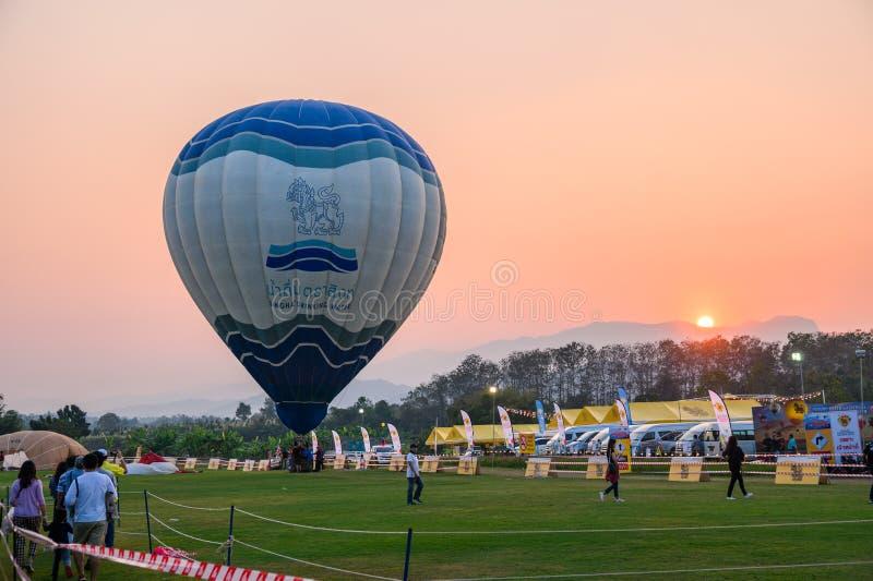 Jaarlijks internationaal ballonfestival in signhapark royalty-vrije stock afbeeldingen