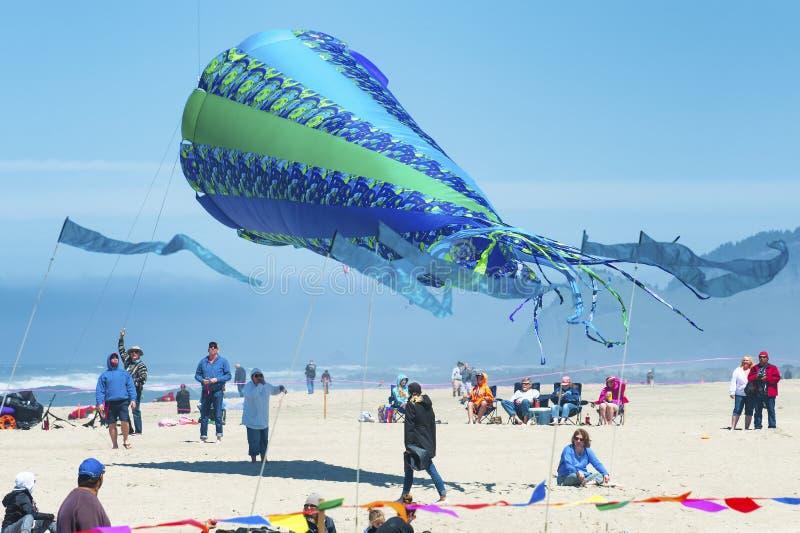 Jaarlijks Vlieger het Vliegen Festival stock fotografie
