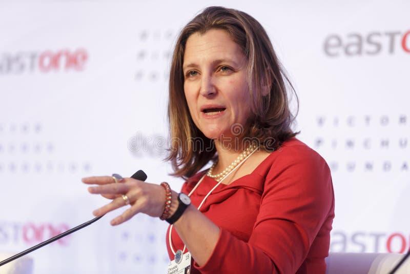 Jaarlijkse Vergadering 2018 van het wereld de Economische Forum in Davos royalty-vrije stock fotografie