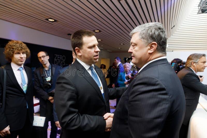 Jaarlijkse Vergadering van het wereld de Economische Forum in Davos royalty-vrije stock fotografie