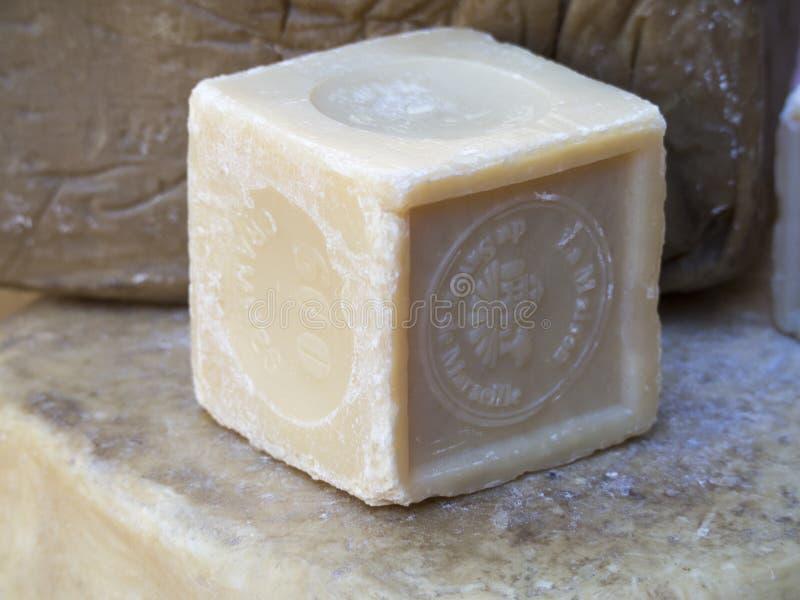 Jabón de Marsella fotografía de archivo