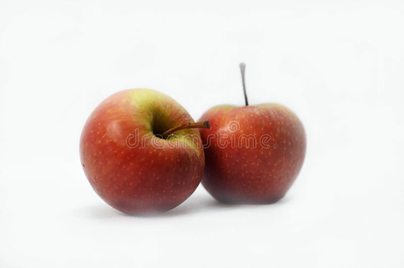 jabłczana czerwony 2 zdjęcia stock