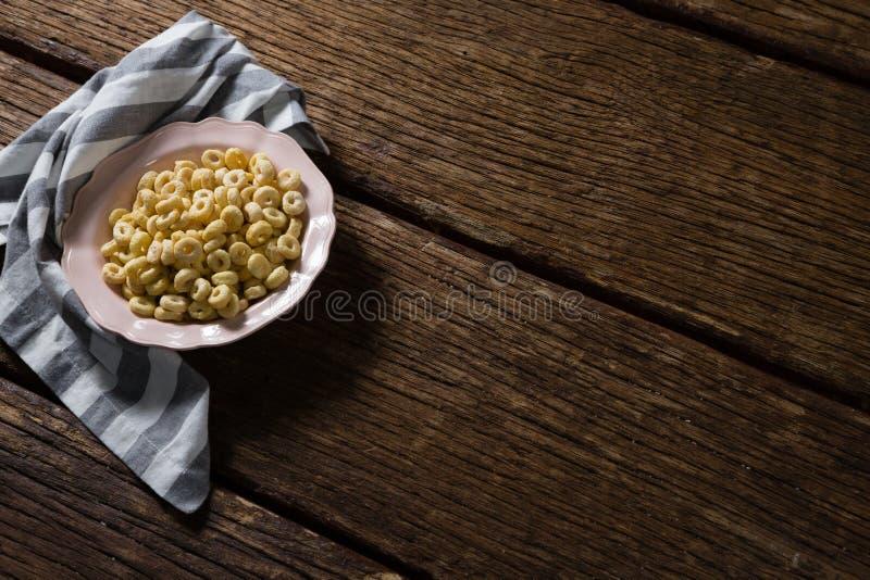 Jabłczana dźwigarka w talerzu z pieluchą fotografia stock