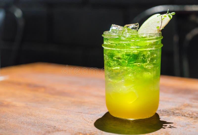 jabłczana melonowa soda obraz stock