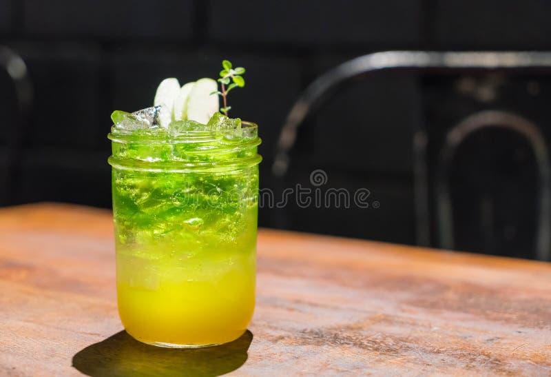 jabłczana melonowa soda zdjęcia stock
