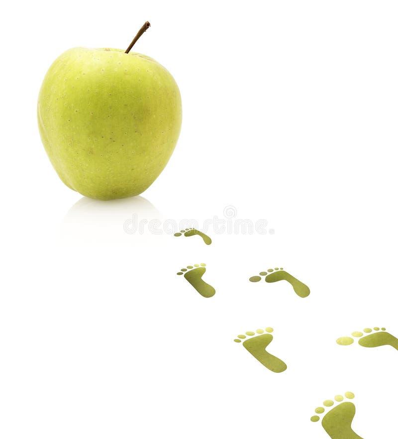 Jabłczana owoc fotografia stock