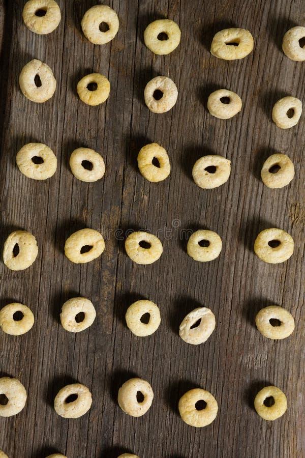 Jabłczane dźwigarki układać w rzędzie fotografia stock