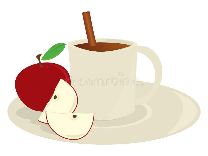 jabłczanego cydru kubek ilustracji