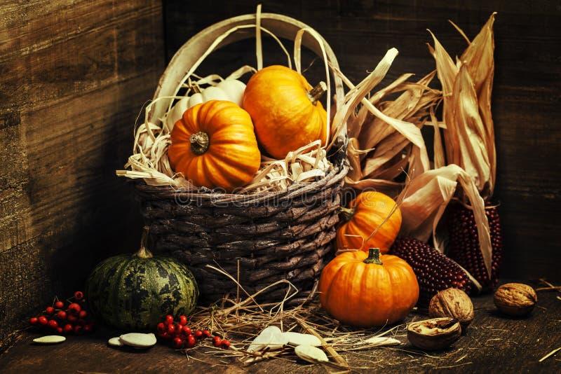 jabłczanego jesień świeczek składu susi liść target2422_0_ wazę zdjęcia stock