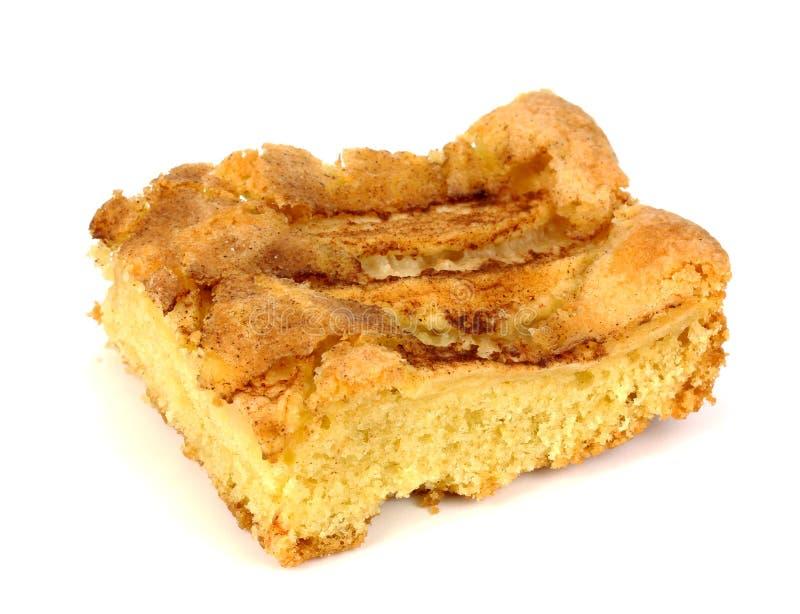 jabłczanego torta zakrywający galaretowi plasterki zdjęcie royalty free