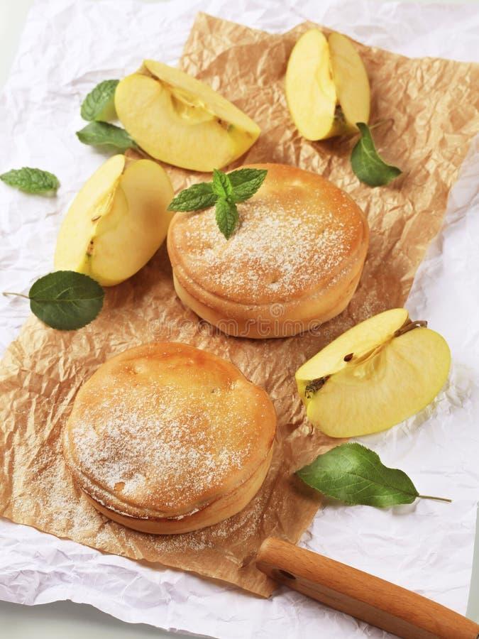 jabłczani kulebiaki zdjęcie stock