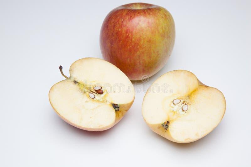 Jabłczany świeży i pełno witamina obraz royalty free