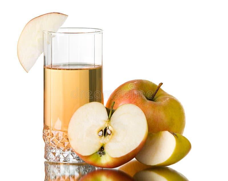 jabłczany świeży sok obrazy stock