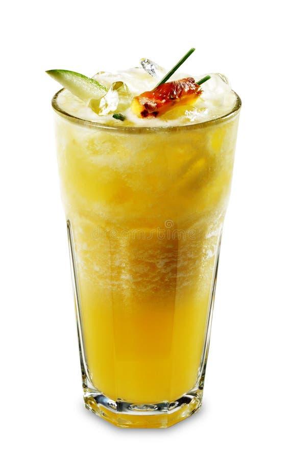 jabłczany ananasowy smoothie zdjęcia royalty free