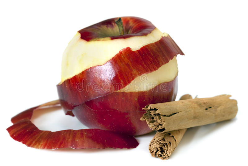 jabłczany cynamon obraz royalty free