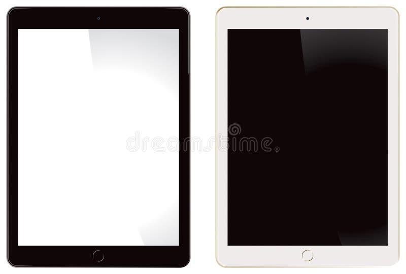 Jabłczany iPad powietrze 2 ilustracji