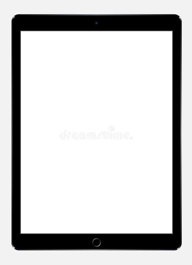 Jabłczany iPad Pro royalty ilustracja
