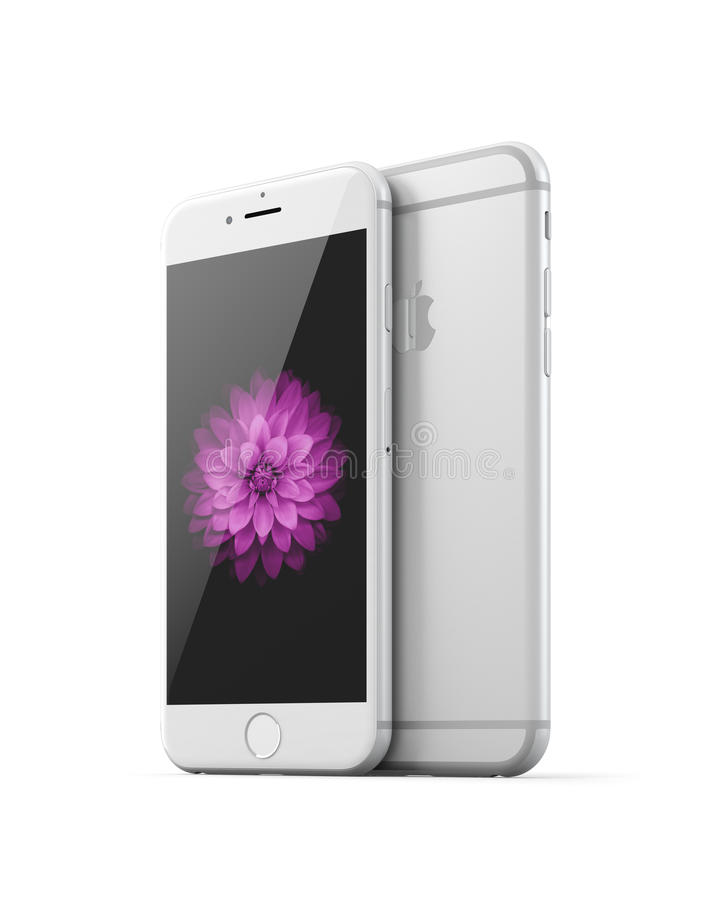 Jabłczany iPhone 6 ilustracja wektor