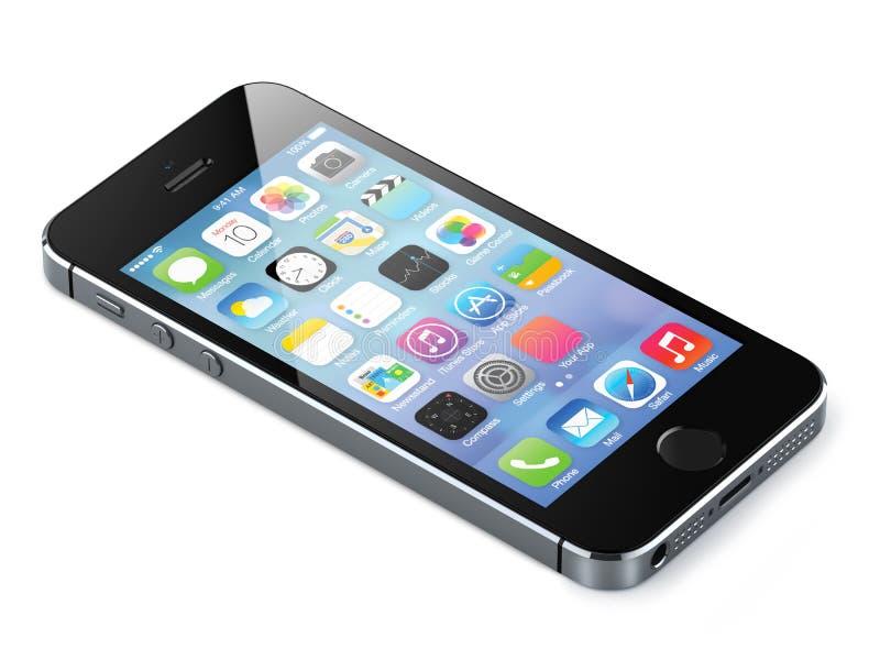 Jabłczany iphone 5s zdjęcia royalty free