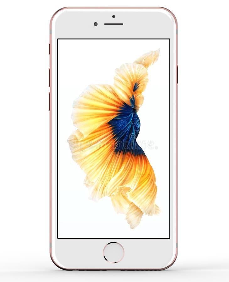 Jabłczany iPhone 6s 2015 fotografia royalty free