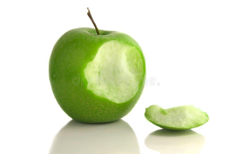 jabłczany kąsek zdjęcie royalty free